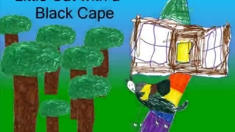 Thumbnail for entry Little Cat with a Black Cape