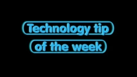 Thumbnail for entry Tech Tip