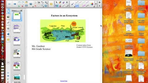Thumbnail for entry 2.1 Factors in an Ecosystem