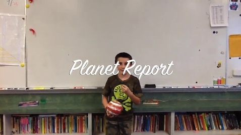 Thumbnail for entry Jamison's Planet Report