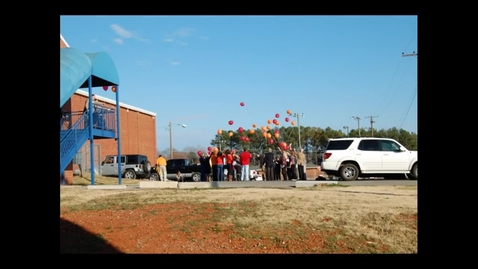 Thumbnail for entry Balloon Launch for Mr. Hickey