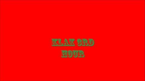 Thumbnail for entry KLAK- Christmas Light Display-Compilation-2015