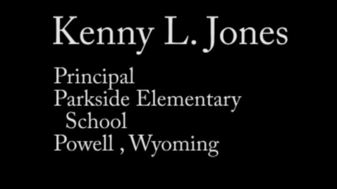 Thumbnail for entry Zone 7 Candidate Kenny L. Jones
