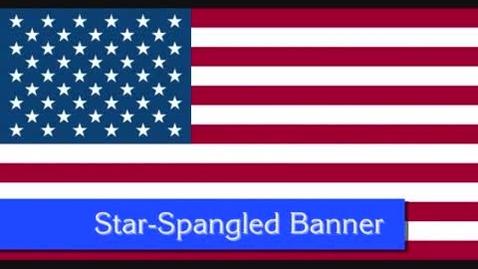 Thumbnail for entry Star-Spangled Banner (with lyrics)