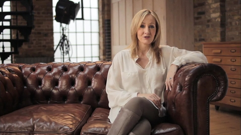 Thumbnail for entry J.K. Rowling Announces Pottermore