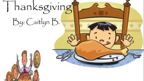 Thumbnail for entry Thanksgiving Editorial - WSCN