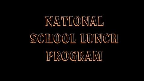 Thumbnail for entry National Lunch Program