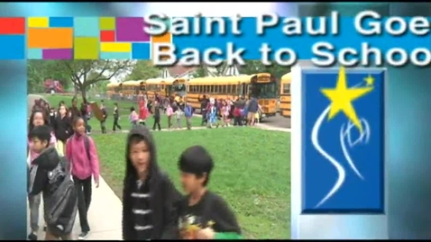 Thumbnail for entry Saint Paul Goes Back to School 2012