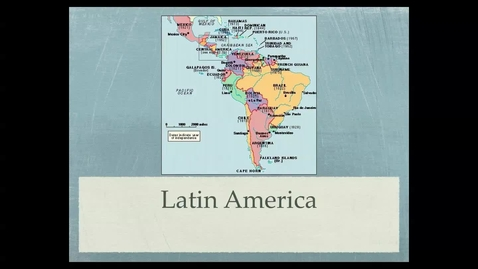 Thumbnail for entry Latin America Introduction