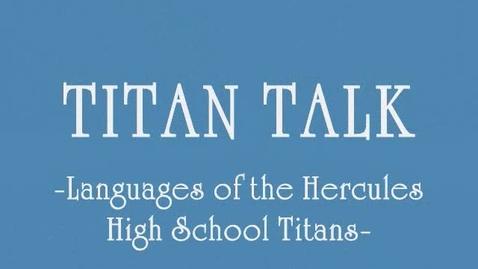 Thumbnail for entry Life Round Here- Titan Talk