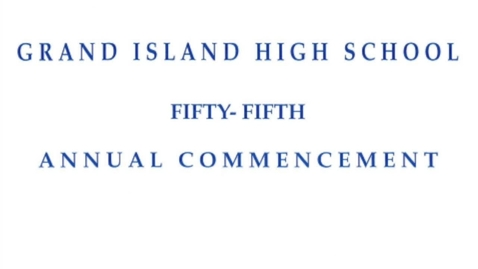 Thumbnail for entry GIHS Class of 2020 Commencement Final Edit
