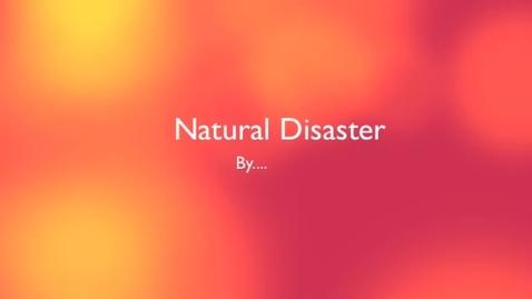 Thumbnail for entry Juan's Natural Disaster
