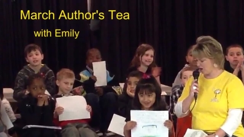 Thumbnail for entry March Author's Tea