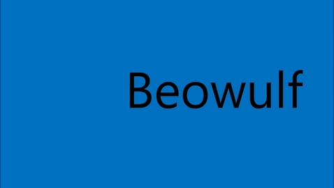 Thumbnail for entry Derek and Camille's Beowulf Movie