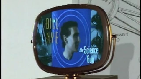 Thumbnail for entry Bill Nye The Science Guy on Static Electricity (Full Clip)