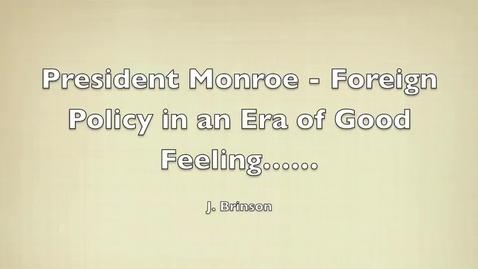 Thumbnail for entry Monroe