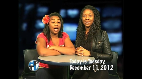 Thumbnail for entry Tuesday, December 11, 2012