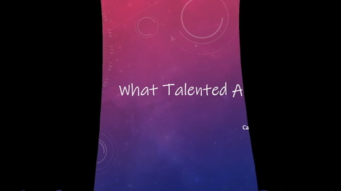 Thumbnail for entry Talented Art Episode 1 3.9.20