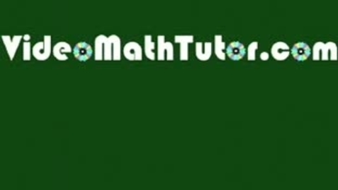 Thumbnail for entry Basic Math: Lesson 4 - Properties of Numbers