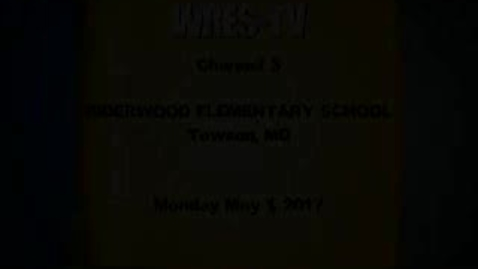 Thumbnail for entry May 1, 2017, WRES-TV Morning Announcements