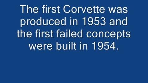 Thumbnail for entry Failed Corvette Concept Cars