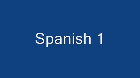 Thumbnail for entry Spanish project