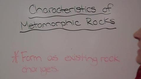 Thumbnail for entry Metamorphic Rocks