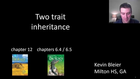 Thumbnail for entry Two trait inheritance