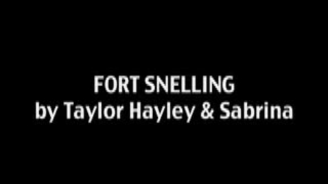 Thumbnail for entry Fort Snelling