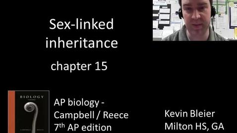 Thumbnail for entry Sex-linked inheritance