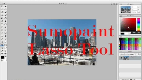 Thumbnail for entry Sumopaint Lasso Tool