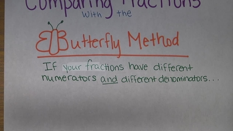 Thumbnail for entry Butterfly Method Anchor chart