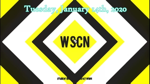 Thumbnail for entry WSCN 01.14.20 with Tunesday