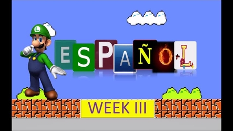 Thumbnail for entry 4th PreRecorded Spanish Class Kinder