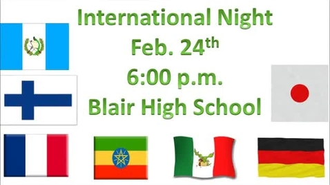 Thumbnail for entry International Night - Mexico