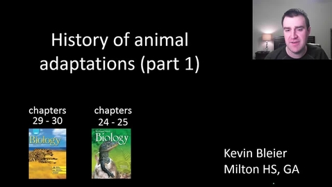 Thumbnail for entry Animal evolutionary history (part 1 of 2)