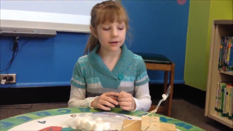 Thumbnail for entry Briana's Simple Machine Toy Invention