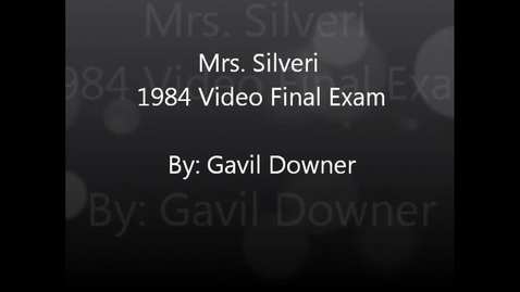 Thumbnail for entry Mrs. Silveri 1984 Video Final