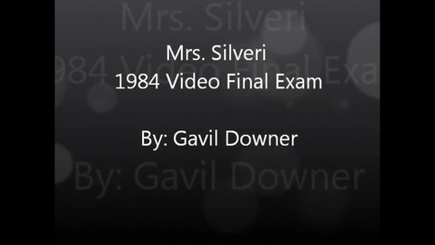 Thumbnail for entry Mrs. Silveri 1984 Video Final