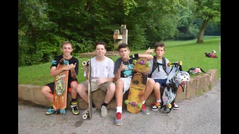 Thumbnail for entry Skateboarding