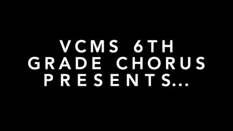 Thumbnail for entry When I Close My Eyes- GICSD 6th Grade Chorus 2020-21