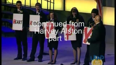 Thumbnail for entry Part 2: Harvey Alston speaks at the 82nd National FFA Convention