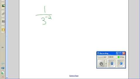 Thumbnail for entry Negative exponents example 3