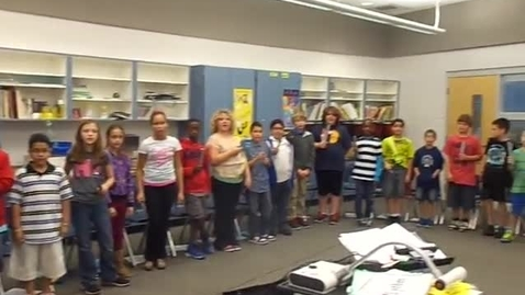 """Thumbnail for entry 13-14 Ms. Gomez's 5th grade class """"Jingle Bells"""