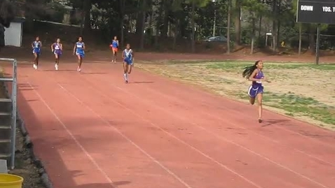 Thumbnail for entry 400 Meter Finish