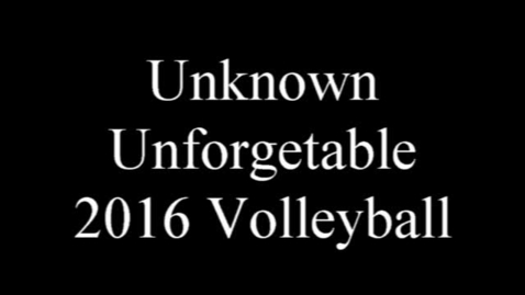Thumbnail for entry 2016 Prescott Volleyball Hilites