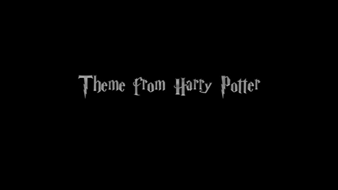 Thumbnail for entry Mar - Harry Potter Theme