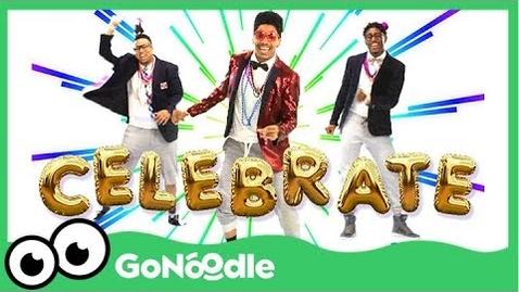 Thumbnail for entry Celebrate - Blazer Fresh | GoNoodle
