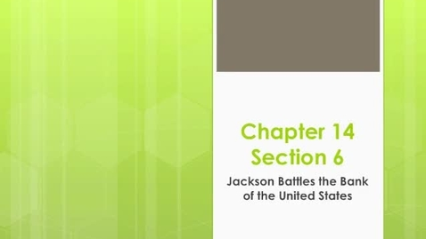 Thumbnail for entry Chapter 14 Section 6
