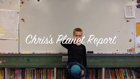 Thumbnail for entry Chris's Planet Report